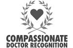 Dr. Kerner has received multiple Compassionate Doctor Recognitions