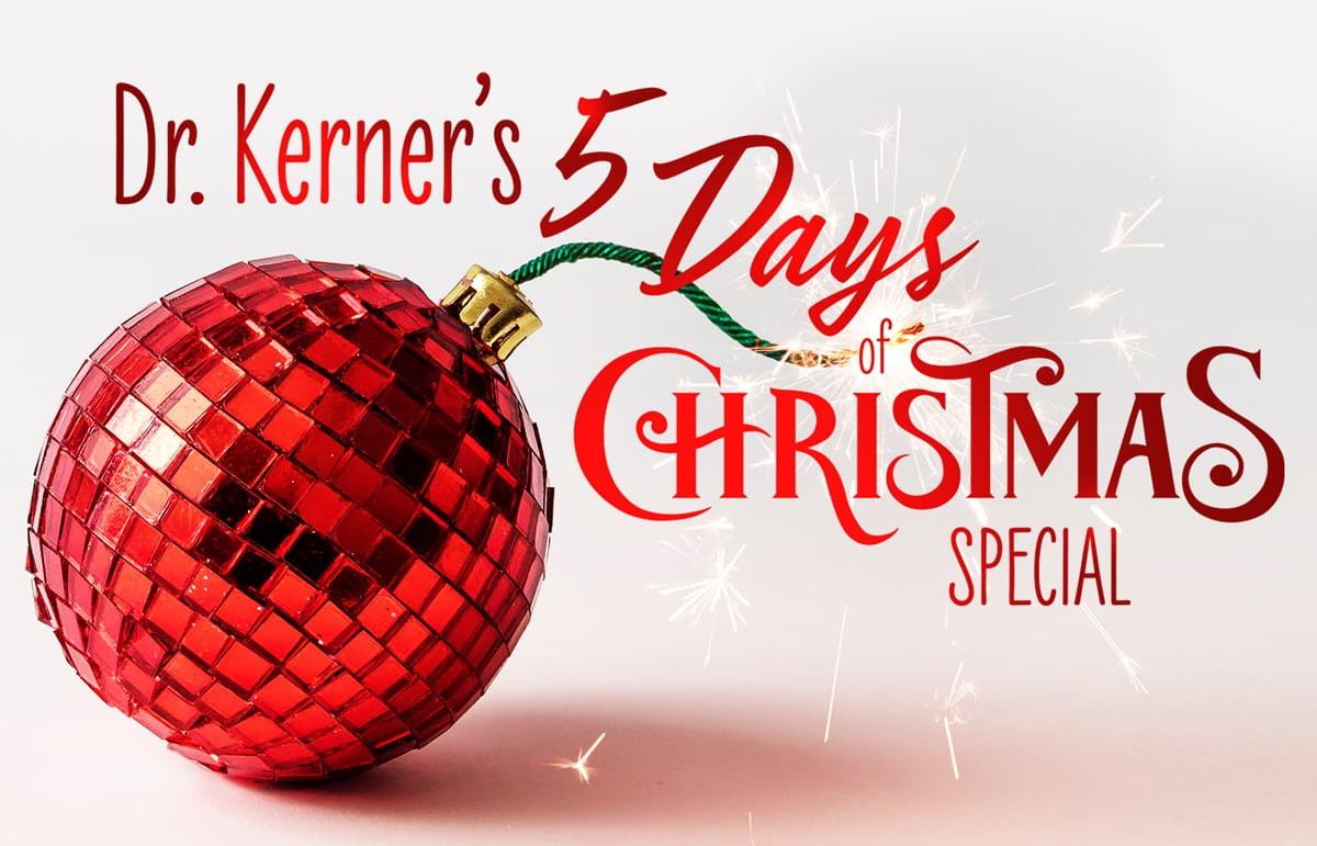 Dr Kerner 5 Days of Christmas Special Deals Juvederm Botox Sculptra Dallas TX Plano Texas