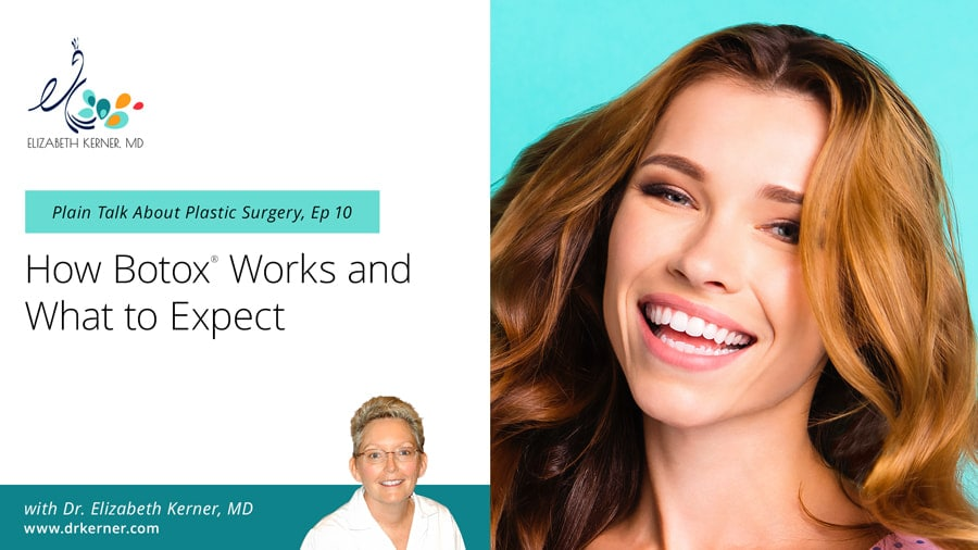Dr Kerner Plain Talk About Plastic Surgery How Brow Lift Forehead Lift Surgery Works Dallas TX